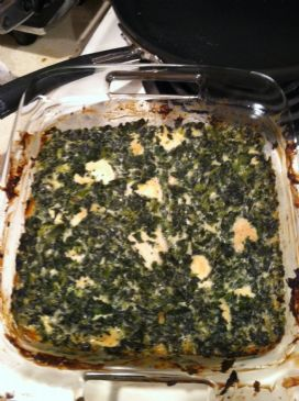 The BEST Chicken and Spinach Casserole