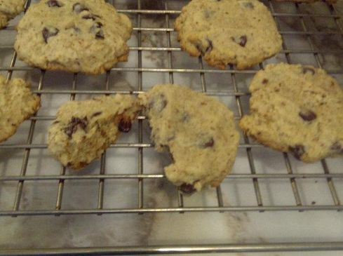 Chocolate Chips with whole wheat and flax