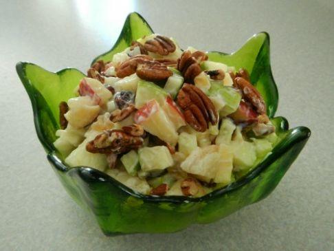 Apple Ginger Salad