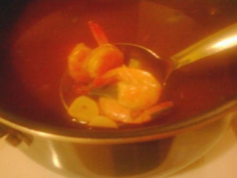 Redwall Otter's Hotroot N Shrimp Soup