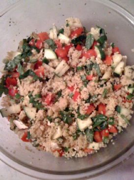 Stacey's Greek Couscous Salad