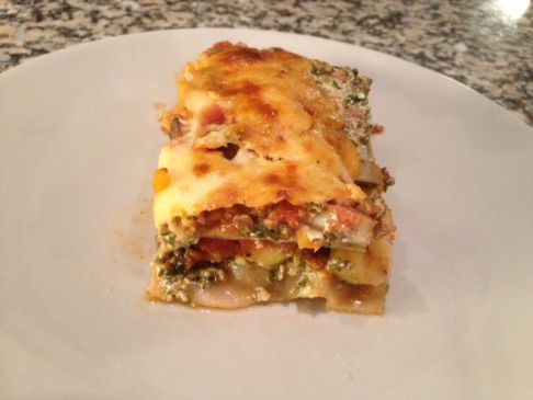 Cori's Vegetarian (or not) Lasagna -- Low Fat