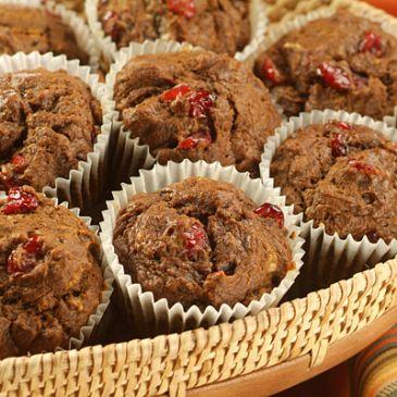 Paleo Power AHmazing Pumpkin-Cran Nut Muffins