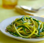Brown Butter Summer Squash Linguine