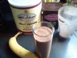 Banana Chocolate Protein Smoothie