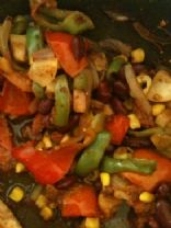 Mexican bean & veg salsa de-light!