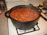 Rainbow Veggie Turkey Chili