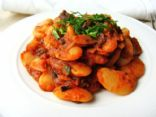 Large Lima Beans in Tomato Sauce