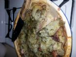 Cheesy Ham and Potato Pie