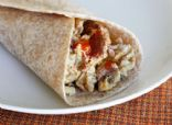 Junia's Turkey Chorizo Egg White Burritos