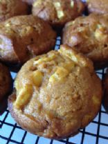Elle's Pumpkin-Apple Muffins