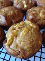 Elle's Pumpkin-Apple Muffins