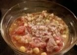 Slow Cooker Beef, White Bean and Quinoa Stew