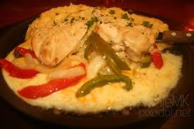 Sizzling Chicken and Cheese