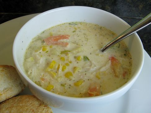 Corn/Seafood-Coconut Chowder