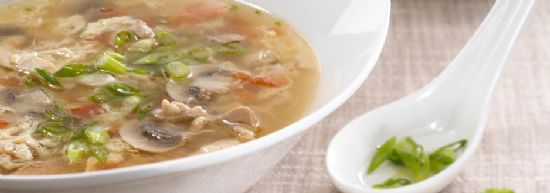 Egg Drop Chicken Soup