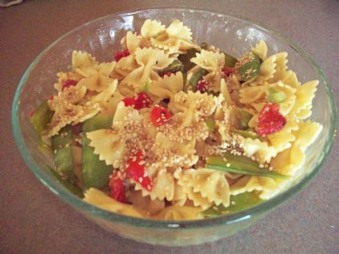 Oriental Bow Tie Pasta Salad