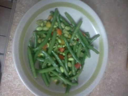 Edamame and Green Bean Salad