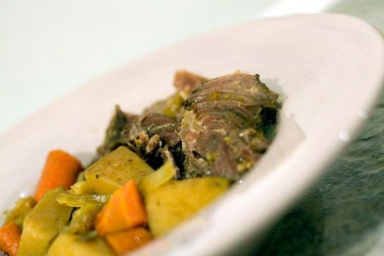 Easiest Slow Cooker Beef Pot Roast