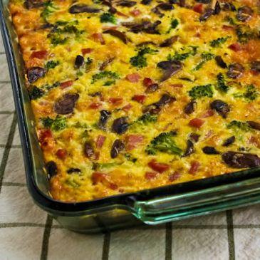 Mushroom Rice & Broccoli Cassarole