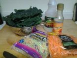 Tri Color Kale Salad w/Asian Orange Dressing