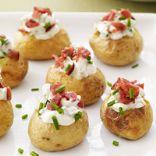 Mini Stuffed Potatoes