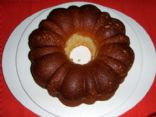 White Bean Lemon Bundt Cake