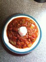 bold veggie chile