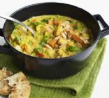 Creamy Veggie Korma (from BBC Good Food)