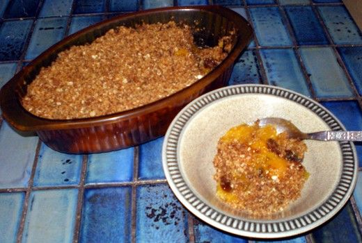 Special Apricot Crumble