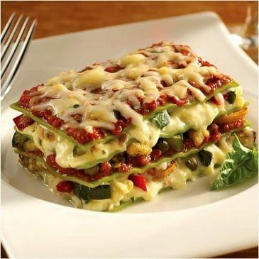 Italian vegetable Lasagne