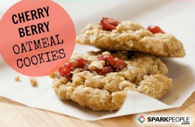 Cherry Berry Oatmeal Cookies