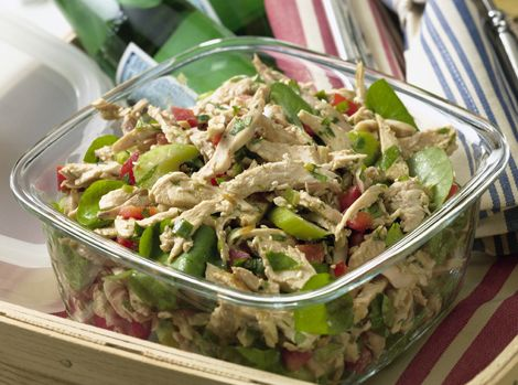 Chicken Salad with mustard vinairgarette