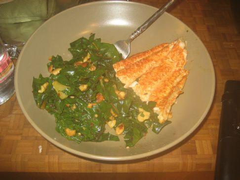 Toasted Cashew Kale