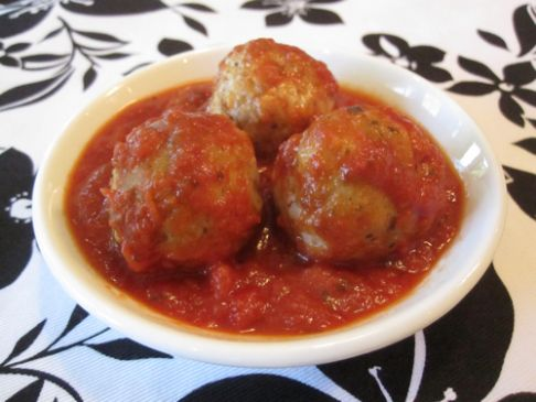 Weelicious Turkey Pesto Meatballs