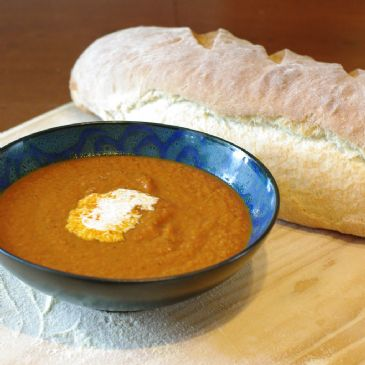Creamy Veggie Tomato soup