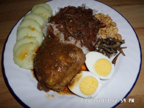 Homemade Nasi Lemak