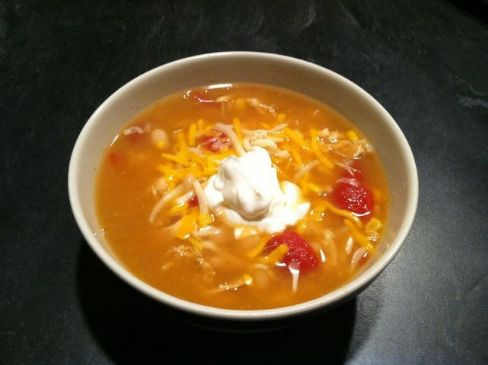 White Chicken Chili Recipe | SparkRecipes