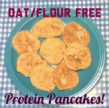 Simply Delicious Protein Pancakes -- Flour and Oat Free