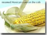 Steamed Mexican Corn on the Cob