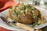 Creamy Chicken and Broccoli Stuffed Potato
