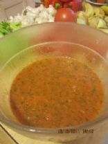 Home Made Pureed Vegetable Soup