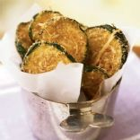 Crispy Oven Baked Zucchini Chips