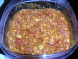 Tomato Garbanzo Curry Sauce