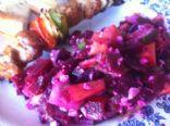 Beet Mango Feta Salad