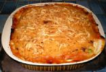Tuna Leek and Tomato Pie