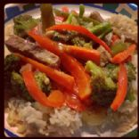 Vegetable & Beef Stirfry