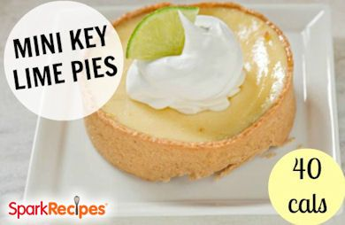Mini Frozen Key Lime Desserts