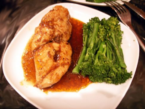 Honey-Balsamic Glazed Chicken