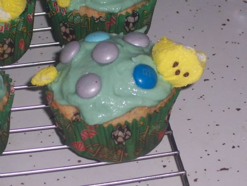 Kids Turtle Themed Cupcakes